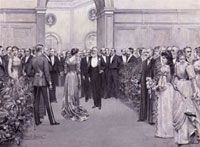 The Royal Academy Conversazione,1891 (includes Dame (Alice)