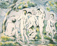 Bathers in a Landscape,c. 1890-1900