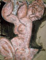 Nude-Caryatid,1913