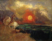 Saint George and the Dragon,c. 1907-1910