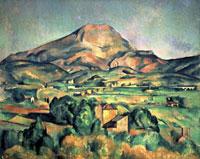 Mont Sainte-Victoire,1885-1895 20044000087| 写真素材・ストックフォト・画像・イラスト素材|アマナイメージズ