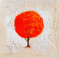 Seasons Fall 2007  Acrylic on canvas 20044000182| 写真素材・ストックフォト・画像・イラスト素材|アマナイメージズ