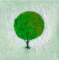 Seasons Spring 2007  Acrylic on canvas