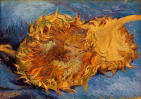 The Sunflowers by Gogh, Vincent, van (1853-1890) / Metropoli