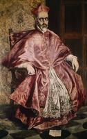 Cardinal Nino de Guevara, S. 1596, Greco,  El (1541-1614/Gre 20044000798| 写真素材・ストックフォト・画像・イラスト素材|アマナイメージズ