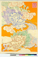 友禅図案 20046000280| 写真素材・ストックフォト・画像・イラスト素材|アマナイメージズ