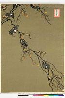 友禅図案(秋模様友禅図案集より) 20046000343| 写真素材・ストックフォト・画像・イラスト素材|アマナイメージズ