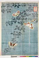 友禅図案(秋模様友禅図案集より) 20046000346| 写真素材・ストックフォト・画像・イラスト素材|アマナイメージズ