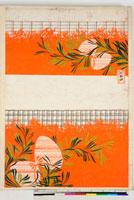 友禅図案(伊達模様友禅図案集より) 20046000415| 写真素材・ストックフォト・画像・イラスト素材|アマナイメージズ