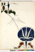 友禅図案(夏模様随意友禅図案集より) 20046000487| 写真素材・ストックフォト・画像・イラスト素材|アマナイメージズ
