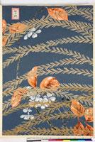 友禅図案(夏模様随意友禅図案集より) 20046000551| 写真素材・ストックフォト・画像・イラスト素材|アマナイメージズ