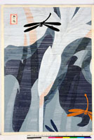 友禅図案(夏模様随意友禅図案集より) 20046000555| 写真素材・ストックフォト・画像・イラスト素材|アマナイメージズ