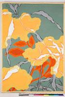 友禅図案(秋冬応用随意友禅図案集より) 20046000869| 写真素材・ストックフォト・画像・イラスト素材|アマナイメージズ
