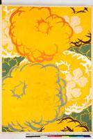 友禅図案(秋冬向模様友禅図案集より) 20046000905| 写真素材・ストックフォト・画像・イラスト素材|アマナイメージズ