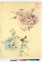 図案(花鳥模様友禅図案集より) 20046001869| 写真素材・ストックフォト・画像・イラスト素材|アマナイメージズ