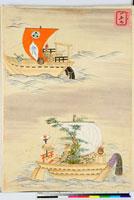 友禅図案 20046002099| 写真素材・ストックフォト・画像・イラスト素材|アマナイメージズ
