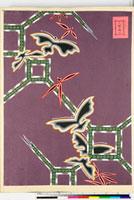 友禅図案(有職模様図案集より) 20046002210| 写真素材・ストックフォト・画像・イラスト素材|アマナイメージズ