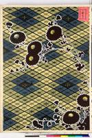 友禅図案(有職模様図案集より) 20046002212| 写真素材・ストックフォト・画像・イラスト素材|アマナイメージズ
