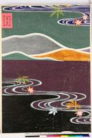 友禅図案(有職模様図案集より) 20046002222| 写真素材・ストックフォト・画像・イラスト素材|アマナイメージズ