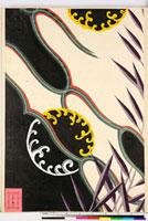 友禅図案(有職模様図案集より) 20046002229| 写真素材・ストックフォト・画像・イラスト素材|アマナイメージズ