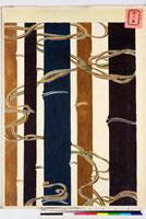 友禅図案(有職模様図案集より) 20046002241| 写真素材・ストックフォト・画像・イラスト素材|アマナイメージズ