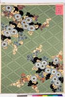 友禅図案(有職模様図案集より) 20046002246| 写真素材・ストックフォト・画像・イラスト素材|アマナイメージズ