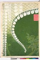友禅図案(有職模様図案集より) 20046002261| 写真素材・ストックフォト・画像・イラスト素材|アマナイメージズ