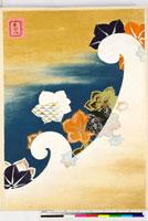 友禅図案(有職模様図案集より) 20046002308| 写真素材・ストックフォト・画像・イラスト素材|アマナイメージズ