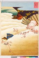 友禅図案(有職模様図案集より) 20046002360| 写真素材・ストックフォト・画像・イラスト素材|アマナイメージズ