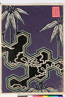 友禅図案(有職模様図案集より) 20046002410| 写真素材・ストックフォト・画像・イラスト素材|アマナイメージズ