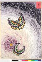 友禅図案(有職模様図案集より) 20046002417| 写真素材・ストックフォト・画像・イラスト素材|アマナイメージズ