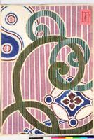 友禅図案(有職模様図案集より) 20046002436| 写真素材・ストックフォト・画像・イラスト素材|アマナイメージズ