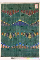 友禅図案(秋模様友禅図案集より) 20046002568| 写真素材・ストックフォト・画像・イラスト素材|アマナイメージズ