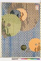 友禅図案(秋模様友禅図案集より) 20046002587| 写真素材・ストックフォト・画像・イラスト素材|アマナイメージズ