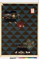 友禅図案(秋模様友禅図案集より) 20046002632| 写真素材・ストックフォト・画像・イラスト素材|アマナイメージズ