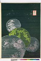 友禅図案(秋模様友禅図案集より) 20046002651| 写真素材・ストックフォト・画像・イラスト素材|アマナイメージズ
