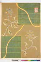 友禅図案(秋模様友禅図案集より) 20046002675| 写真素材・ストックフォト・画像・イラスト素材|アマナイメージズ