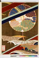 友禅図案(秋模様友禅図案集より) 20046002690| 写真素材・ストックフォト・画像・イラスト素材|アマナイメージズ
