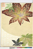 友禅図案(秋模様友禅図案集より) 20046002755| 写真素材・ストックフォト・画像・イラスト素材|アマナイメージズ