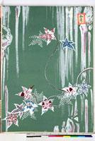 友禅図案(秋模様友禅図案集より) 20046002803| 写真素材・ストックフォト・画像・イラスト素材|アマナイメージズ
