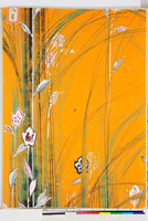 友禅図案(秋模様友禅図案集より) 20046002806| 写真素材・ストックフォト・画像・イラスト素材|アマナイメージズ