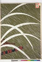 友禅図案(秋模様友禅図案集より) 20046002808  写真素材・ストックフォト・画像・イラスト素材 アマナイメージズ