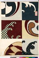 友禅図案(伊達模様友禅図案集より) 20046002909| 写真素材・ストックフォト・画像・イラスト素材|アマナイメージズ