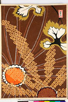 友禅図案(伊達模様友禅図案集より) 20046003041| 写真素材・ストックフォト・画像・イラスト素材|アマナイメージズ