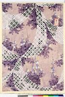 友禅図案(伊達模様友禅図案集より) 20046003064| 写真素材・ストックフォト・画像・イラスト素材|アマナイメージズ