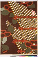 友禅図案(伊達模様友禅図案集より) 20046003096| 写真素材・ストックフォト・画像・イラスト素材|アマナイメージズ