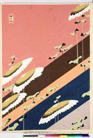 友禅図案(伊達模様友禅図案集より) 20046003100| 写真素材・ストックフォト・画像・イラスト素材|アマナイメージズ