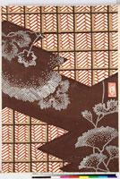 友禅図案(伊達模様友禅図案集より) 20046003125| 写真素材・ストックフォト・画像・イラスト素材|アマナイメージズ