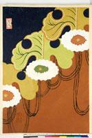 友禅図案(伊達模様友禅図案集より) 20046003200| 写真素材・ストックフォト・画像・イラスト素材|アマナイメージズ