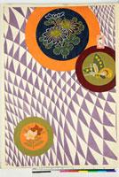 友禅図案(伊達模様友禅図案集より) 20046003207| 写真素材・ストックフォト・画像・イラスト素材|アマナイメージズ
